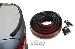 Spoiler Safe Spoiler Spoiler Lip Gloss Black For Several Vehicles
