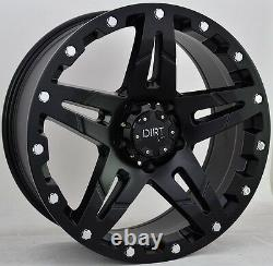 The D66 9x20 5x127 Wheels For Jeep Grand Cherokee Wrangler Offroad Design