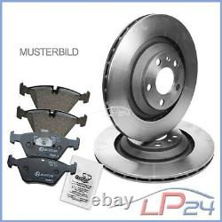 Ventilated Discs + Front Blisters Ø328 Jeep Commander 05-10