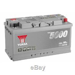 Yuasa Battery Silver Ybx5019 12v 100ah 353x175x190mm + Right