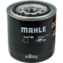 10x Original Mahle / Knecht Filtre à Huile Oc 288 + 10x Sct Moteur Flush Rinçage