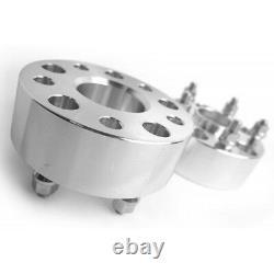 2pc 50mm 5x127 Elargisseurs de voie 71,5 mm Pour JEEP WRANGLER JK GRAND CHEROKEE