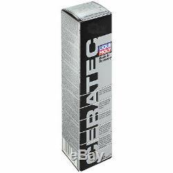2xmann-filter Ölfilter-hu 821 X + 2xliqui Moly Pro-Line Rinçage de Moteur / 2x