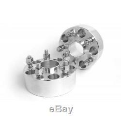 4pcs 38mm 5x127 entretoise de roue 71,5 mm Pour JEEP WRANGLER JK GRAND CHEROKEE