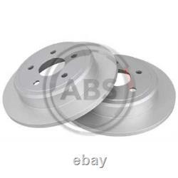 A. B. S. 2x Disques de Frein Plein Recouvert 17820