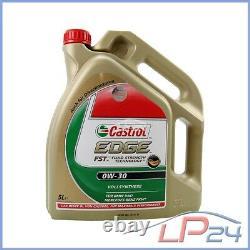 Bosch Filtre + 10 L Castrol Edge Fst 0w-30 Chrysler 300 C 3.0 Crd 05-10