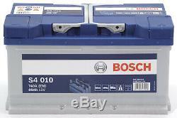 Bosch S4010 Batterie de Voiture 80A/h-740A