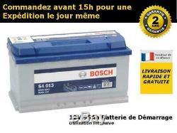 Bosch S4013 Batterie de Démarrage Pour Voiture 12V 95Ah 353x175x190