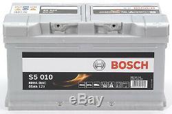 Bosch S5010 Batterie de Voiture 85A/h-800A