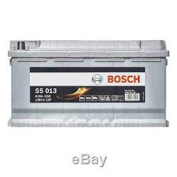 Bosch S5013 Batterie de Démarrage Pour Voiture 12V 100Ah 353x175x190mm