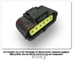Dte Pedal Box Plus Avec Appsteuerung Pour Jeep Grand Cherokee III WH Wk