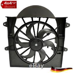 Ensemble ventilateur et moteur Jeep Commander XK/XH 2006/2008 (3.7 L, 4.7 L)