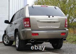 Fox Duplex Échappement Sport Jeep Grand Cherokee WH 3,0l CRD