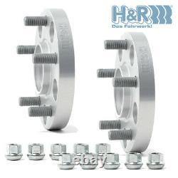 H&R Élargisseurs de voie 45mm pour Chrysler Jeep Grand Cherokee 90155714