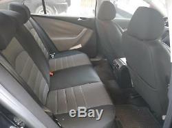 Housses de siège protecteur pour Jeep Cherokee No1 noir-gris