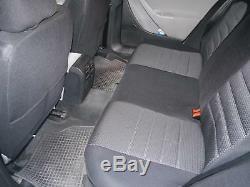 Housses de siège protecteur pour Jeep Cherokee No3 noir-gris