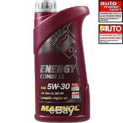 Inspection Set 8 L Mannol Energy Combi Ll 5W-30 + Mann Filtre 10935014
