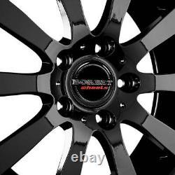 Jantes Borbet C2C 7.5x17 ET35 5x127 SW pour Chrysler Grand Cherokee Voyager Comm