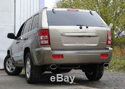 Jeep Grand Cherokee Type Wh Silencieux Sport Sortie Droite / à gauche 140x90 T