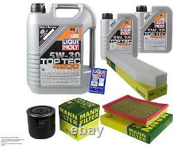 LIQUI MOLY 7L Toptec 4200 5W-30 Huile Mann Pour Jeep Grand Cherokee III WH