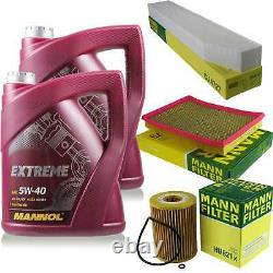 MANNOL 10L Extreme 5W-40 huile moteur + Mann Jeep Grand Cherokee III WH 3.0