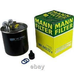 MANNOL 10L Nano Tech 10W-40 huile moteur + Mann-Filter Pour Jeep Grand Cherokee