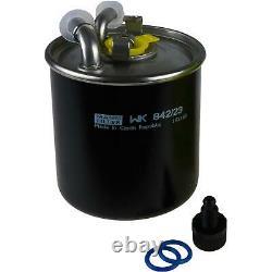 MANNOL 10L Nano Tech 10W-40 huile moteur + Mann Pour Jeep Grand
