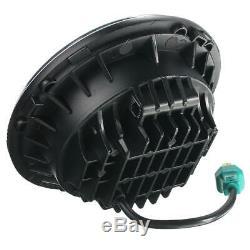 Phare avant pour Jeep Wrangler JK Tj Lj CJ 7 inch 40W 6500K Hi/Lo LED 2 Pièce