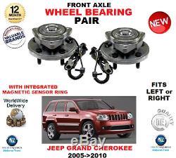 Pour Jeep Grand Cherokee 2005-2010 2 X avant Gauche + Droit Roulements Roue Set