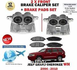 Pour Jeep Grand Cherokee 3.0DT 4.7 5.7 2005-2010 2 Frein Avant Étrier + Pads Set