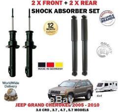 Pour Jeep Grand Cherokee WH WK 2005-2010 2 x AVANT + 2 AMORTISSEUR ARRIÈRE SET
