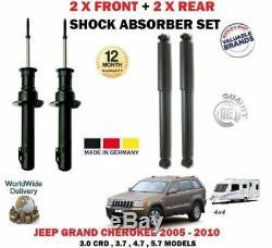 Pour Jeep Grand Cherokee WH Wk 2005-2010 2X avant + 2x Amortisseur Arrière