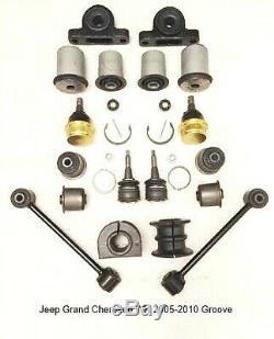 Pour Jeep Grand Cherokee Wk Suspension Avant Réparation Kit Groove 2005-2010