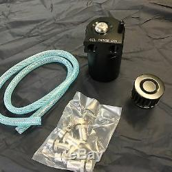 Séparateur D'Huile PCV Système de Filtre à Air Vapeurs Noir Oilcatchtank Can