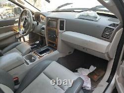 Siege siege du conducteur avant gauche pour Jeep Grand Cherokee III WH 05-10
