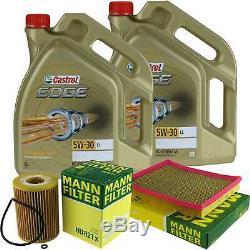 Sketch D'Inspection Filtre Castrol 10L Huile 5W30 pour Jeep Format Xk 3.0 CRD