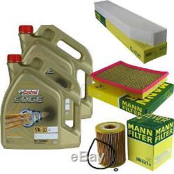 Sketch D'Inspection Filtre Huile Castrol 10L 5W30 pour Jeep Grand Cherokee III