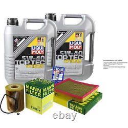 Sketch D'Inspection Filtre LIQUI MOLY Huile 10L 5W-40 Pour Jeep Étui Xk 3.0 CRD