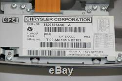 System Monitor DVD 56038784AE Jeep GRAND CHEROKEE 3 WH WK 30094