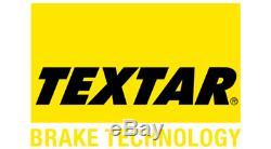 Textar Essieu Arrière Disques de Frein + Coussinets pour Jeep Grand Cherokee 5.7