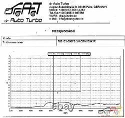Turbo Jeep Grand Cherokee III 3.0 CRD WH 160 184 190 211 218 224 Ch 765155