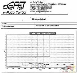 Turbo Jeep Grand Cherokee III 3.0 CRD Wh 160 184 190 211 218 224 Ps 765155