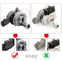 Turbocompresseur 757608-0001 A6420900280 Turbine pour MERCEDES ML 320 CDi W164